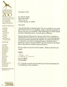 Dr. Mastin At The Zoo